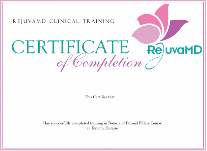 Botox Certification
