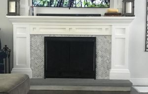 FIREPLACE TABLE